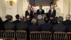 باراک اوباما استعفای چاک هیگل از وزارت دفاع آمریکا را پذیرفت
