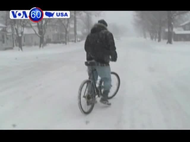 Nhiệt độ xuống hơn 30 độ dưới mức đóng băng tại Mỹ