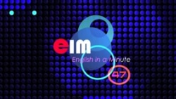 English in a Minute: Baggage
