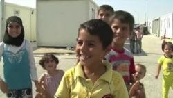 전쟁의 상처로 고통 받는 시리아 어린이들