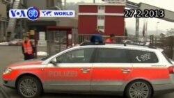 Nổ súng tại Thụy Sĩ, ba người thiệt mạng (VOA60)