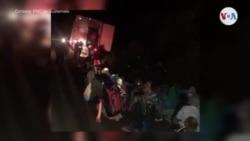 Más de 100 haitianos son abandonados en Guatemala dentro de un contenedor