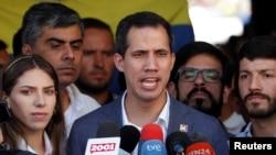 خوان گوایدو رئیس جمهوری موقت ونزوئلا