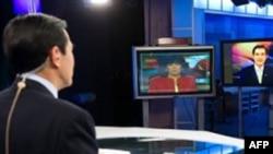 马英九总统接受CNN采访