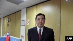 台湾外交部发言人 陈铭政