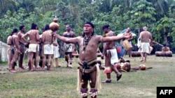 泰诺族首领欧皮尔希望波多黎各人将重获民族自豪感