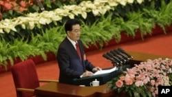 Hu Jintao, presidente da China