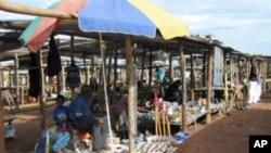 Mercado informal de Malanje