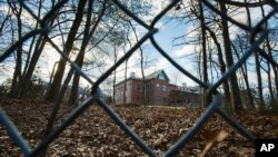 纽约州牡蛎湾镇的一处别墅院。(资料照)