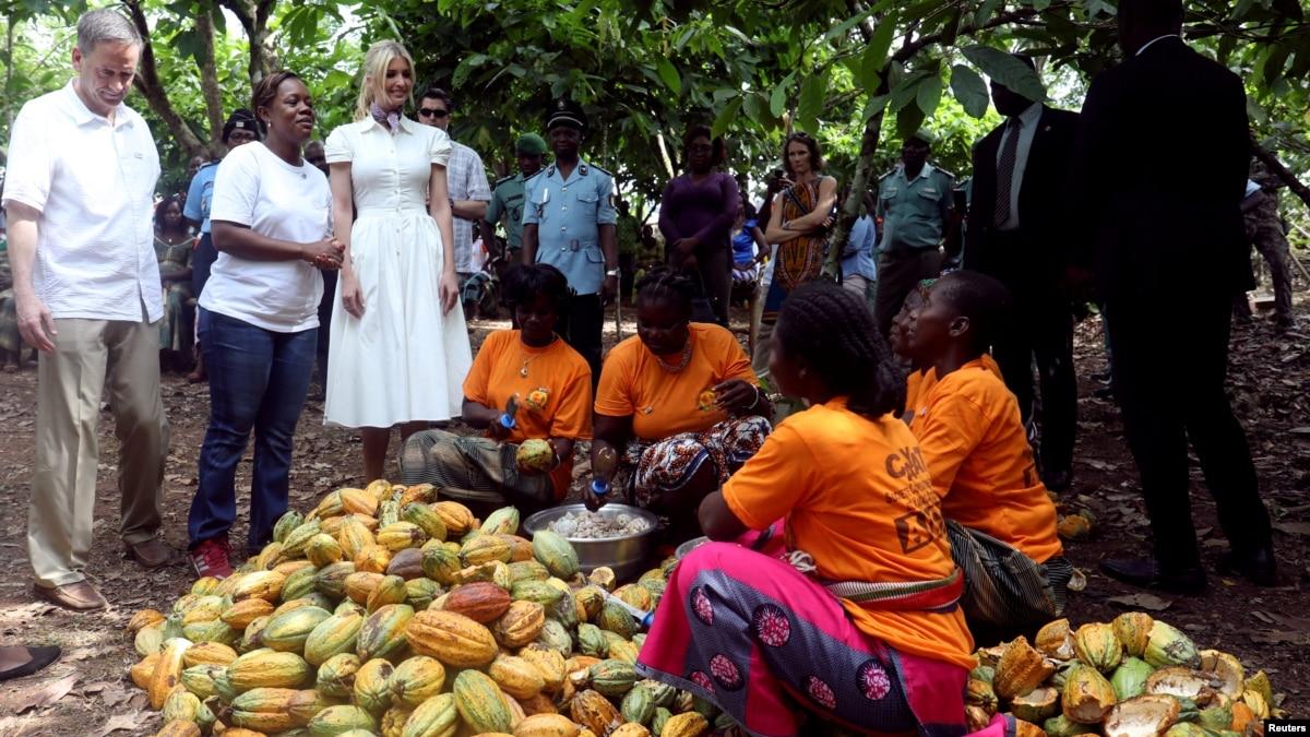 Ivanka Trump Visiting Ivory Coast
