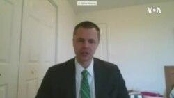 传统基金会非洲问题学者梅瑟维(Joshua Meservey)2020年5月8日在USCC作证