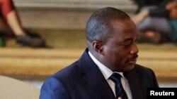 Le président de la RDC, Joseph Kabila, le 26 septembre 2016.