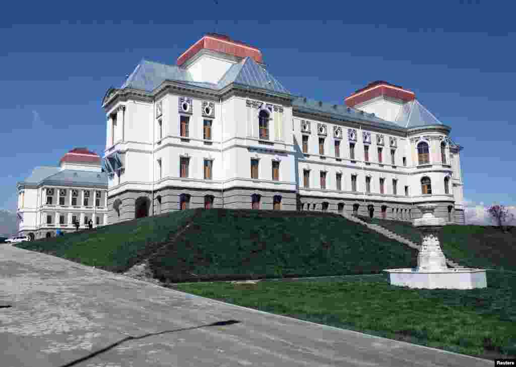 قصر دارالامان، شهر کابل