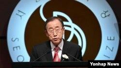 Sekjen PBB Ban Ki-moon menyerukan masyarakat Internasional agar berbuat lebih banyak untuk menghentikan pertempuran di Suriah (29/10).