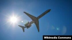 Ilustrasi : sebuah studi menunjukan turbulensi pada penerbangan dapat meningkat akibat perubahan iklim.