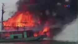 Việt Nam 'quan ngại' về việc Indonesia đánh chìm tàu cá Việt