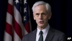 Secretary of Commerce John Bryson, Washington, February 23, 2012.