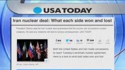 توافق هسته ای ايران بازتاب گسترده ای در سطح جهان داشته است