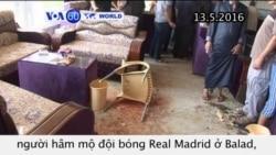 IS tấn công câu lạc bộ hâm mộ Real Madrid (VOA60)