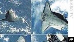 奋进号与国际空间站对接