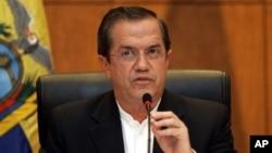 Menteri Luar Negeri Ekuador, Ricardo Patino hari Rabu (26/6) memberikan penjelasan mengenai pemberian suaka bagi Edward Snowden.