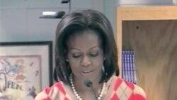 First Lady Announces Healthier US School Meals