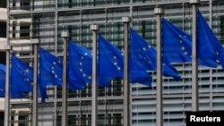 벨기에 브뤼셀의 유럽연합 집행위원회 본부 건물. (자료사진)