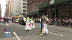 جشن رژه ایرانیان در شهر نیویورک؛ هنر خطه آذربایجان