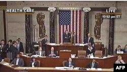 美国众议院通过健保法案