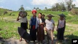 미얀마 라카인 주의 소수민족 로힝야족. (자료사진)