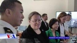 Truyền hình VOA 20/4/21: Mỹ bàn giao trung tâm huấn luyện cho Cảnh sát biển Việt Nam
