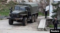 Rossiya kuchlari, Qrim, 28-fevral, 2014