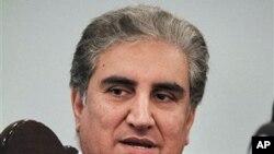 巴基斯坦前外交部長庫雷希星期三見記者