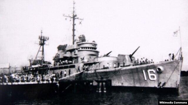 Tuần dương hạm Lý Thường Kiệt (HQ-16) của hải quân Việt Nam Cộng hòa.