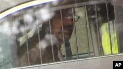 Osumnjičeni Frejžer Glen Kros nakon hapšenja
