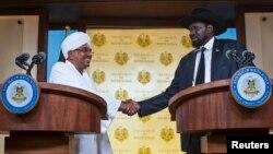 Президенти Судану і Південного Судану