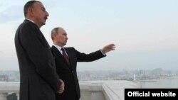 Russian President Vladimir Putin Visit to Azerbaijan, August 13, 2013