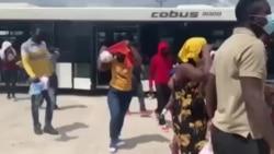 Premye GwoupAyisyen Etazuni Depote Soti Texas Rive Ayiti