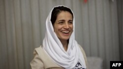 Iranian lawyer Nasrin Sotoudeh. (File)