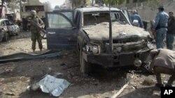 Mesto eksplozije u pokrajini Helmand u Avganistanu (arhiva)