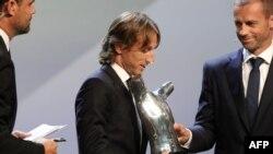 Dan wasan kungiyar Real Madrid Croatie Luka Modric
