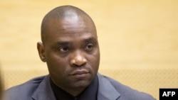 L'ancien chef de guerre congolais Germain Katanga lors de son procès à la Cour pénale internationale, à La Haye, 23 mai 2014.