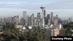 西雅图住房市场欣欣向荣(美国之音国符提供)