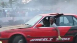 گاڑیاں گھمانے کا کھیل