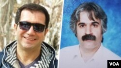 مهدی فراحی شاندیز (راست) و محمد ریاضت