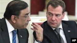 پاکستان اور روس کے صدور