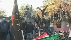 潘基文克林顿谴责伊朗暴徒袭击英国使馆