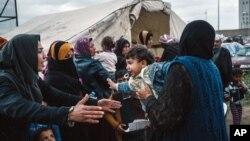 تنها در ماه مه، بیش از۴۲۰۰ عراقی از موصل به سوریه گریخته اند.