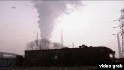 北京霧霾天(視頻截圖)