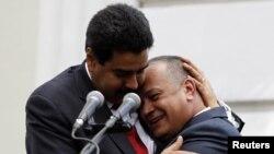 Maduro y Cabello han dado demostraciones públicas de unión para la fortaleza del régimen chavista.